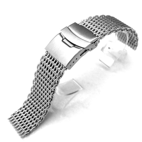 22mm Shark Mesh Band Watch Bracelet