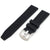 22mm Grid Pattern Silicone Watch Strap