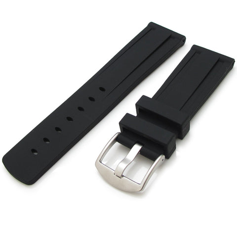 Double Grooves Silicone Strap for Sport