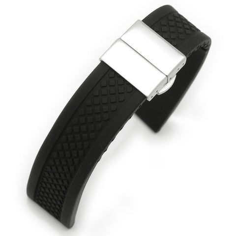 Silicone Strap Deployant Buckle