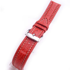 Shark Grain Calfskin Leather Watch Strap