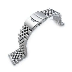 22mm Super Jubilee Straight End, Diver Clasp