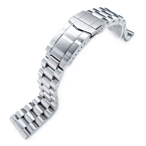 22mm Straight End Endmill Watch Bracelet, SUB Clasp