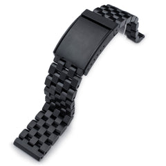 19-25mm SUPER Engineer II OME Seatbelt PVD Black