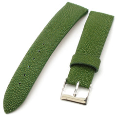 20mm Genuine Stingray Leather Watch Strap