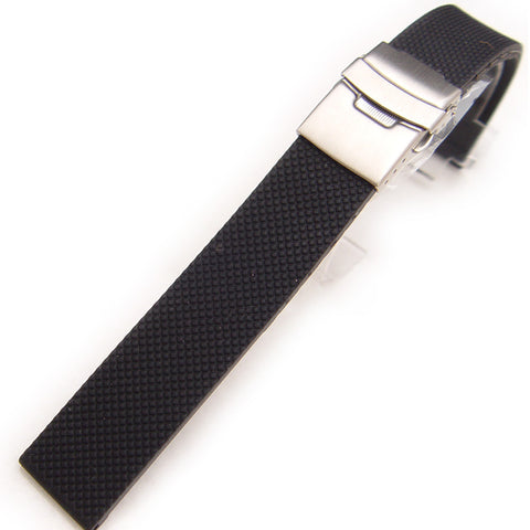 Silicone Dive Watch Strap