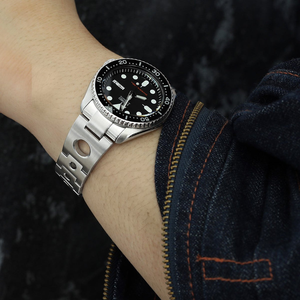 Seiko SKX007 Mods Rollball Curved End Watch Band Upgrade
