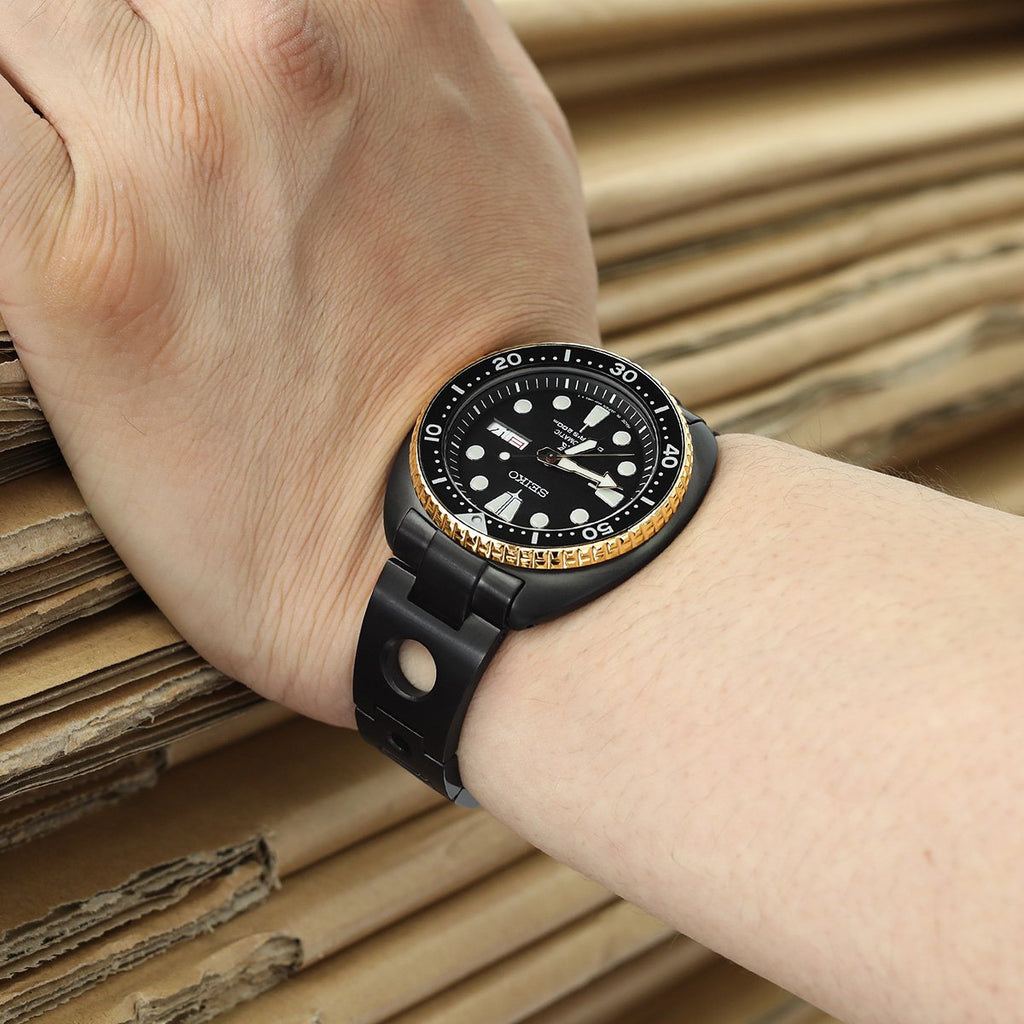 Seiko Mods New Turtle SRP777 Rollball Curved End Watch Band