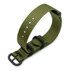 18mm MiLTAT Zulu - Olive Green, PVD