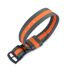 20mm RAF N7 Nato, Grey & Orange, PVD Black