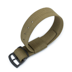 21mm RAF N7 Nato, Military Green, PVD Black