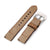 21mm Gunny X MT '74' Brown Handmade Quick Release Watchband
