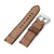 22mm Gunny X MT '74' Brown Handmade Quick Release Watchbands