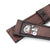 22mm Gunny X MT Brown Handmade Quick Release Watch Straps | Strapcode