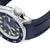 Seiko 5 SRPD11 Fitted Curved End Lug Rubber Watch Band | Crafter Blue
