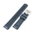 Seiko SKX007 Mod Fitted Curved End Lug Rubber Watch Band |Crafter Blue