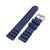 22mm Quick Release Watch Band Blue Diver FKM Rubber Strap Brushed Taikonaut Watch Bands
