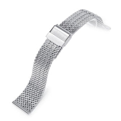 20mm Milanese Bony Wire Mesh Band, Polished