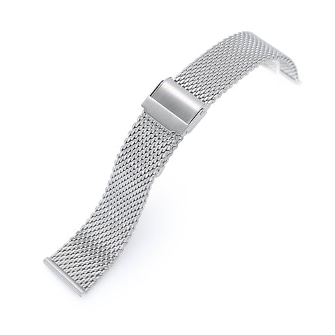 Classic Tapered Wire Mesh Band, Brushed