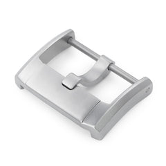 20mm Stainless Steel 316L Screw-in Buckle IWC Style Sandblasted Finish