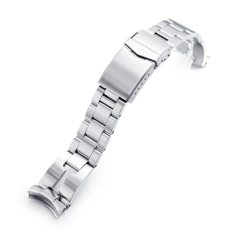 20mm Retro Razor for Seiko SKX013 V-Clasp Brushed