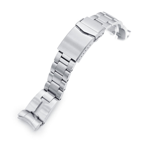 20mm Retro Razor for Seiko Baby MM200 V-Clasp Brushed