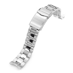Seiko Mod SARB033 Curved End Oyster Bracelet | Strapcode
