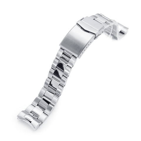 20mm Super-O Boyer for Seiko Baby MM200 V-Clasp, Polished & Brushed