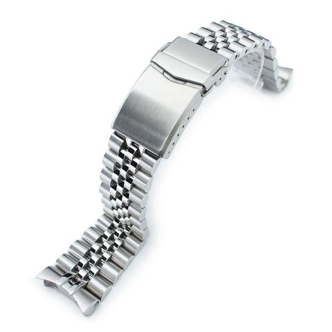 22mm Super-J Louis for Seiko 5 V-Clasp Brushed