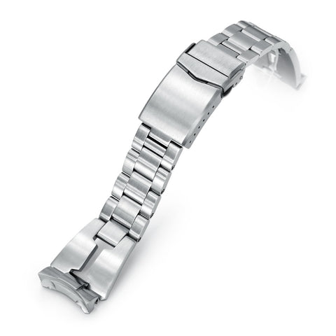 22mm Retro Razor for Seiko 5 V-Clasp Brushed