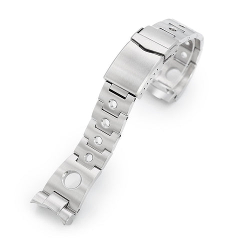 22mm Rollball for Seiko 5 V-Clasp Brushed
