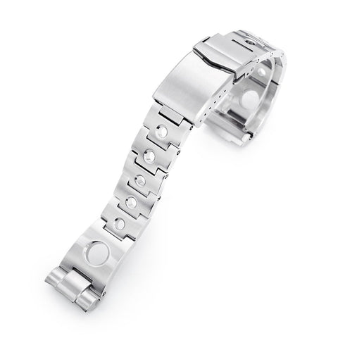 22mm Rollball for Seiko New Turtles, V-Clasp