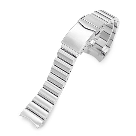 22mm Bandoleer for Seiko SKX007 V-Clasp Brushed