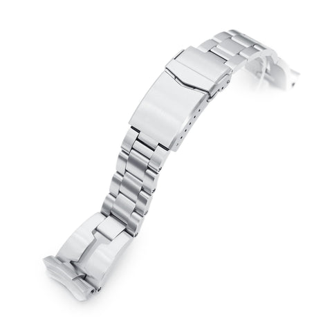 22mm Retro Razor for Seiko 6309-7040 V-Clasp Brushed