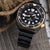 Seiko Japan Edition SBDY004 Prospex Black Turtle Automatic Gold Ring Taikonaut Watch Bands