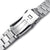 22mm Hexad 316L Stainless Steel Watch Band for Seiko new Turtles SRP777, Brushed and Polished V-Clasp Taikonaut