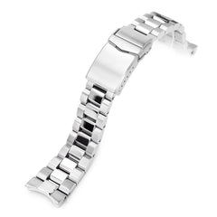 Seiko Mod Samurai SRPB51 Curved End Hexad Oyster Bracelet | Strapcode