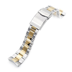Orient Triton Power Reserve Curved End Oyster Bracelet | Strapcode