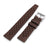 Quick Release Brown Tropic Pro FKM rubber watch strap, 20mm or 22mm