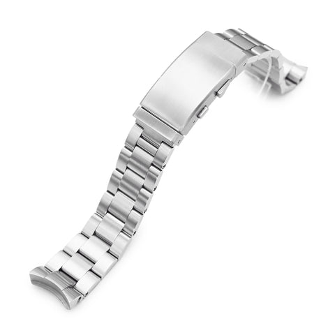 20mm Super-O Boyer Wetsuit Ratchet Buckle for Seiko SKX023, B