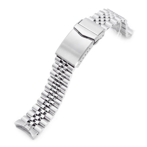 20mm Super-J Louis for New Seiko 5 40mm V-Clasp Brushed