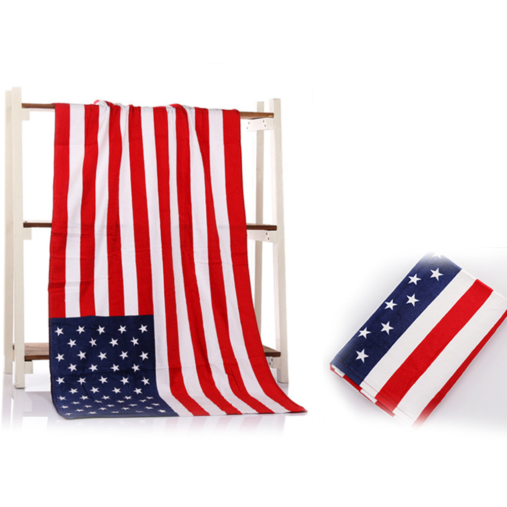 United States National Flag Beach Towel - Mango Beach Towels and Accessories