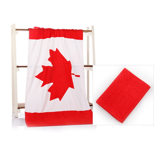Canada National Flag Beach Towel - Mango Beach Towels and Accessories