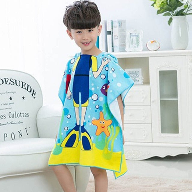 Wearable Kids Beach Towel - Mango Beach Towels and Accessories