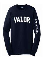 Adult Long Sleeve T-shirt - Collegiate