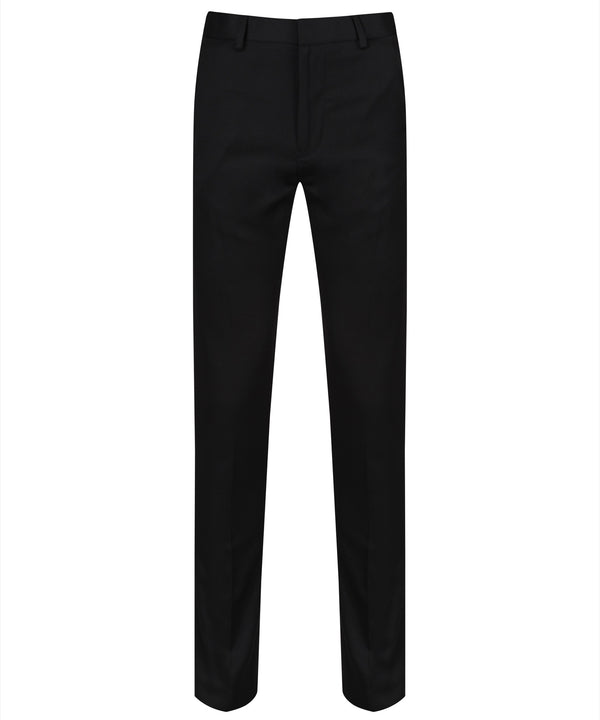 BT7 Senior Boys Slim Cut Trouser - Black