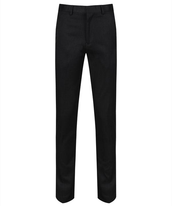 BT7 Senior Boys Slim Cut Trouser - Charcoal