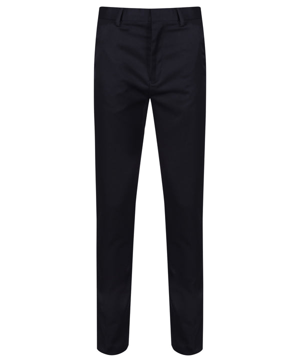 BT7 Senior Boys Slim Cut Trouser - Navy