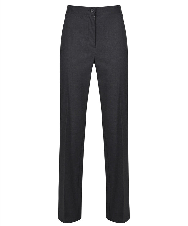 GTR415 - Senior Girls Trouser - Slim Cut - Harrow Grey