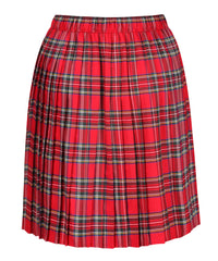 SK105B- Junior Girls Kilt - Red Tartan